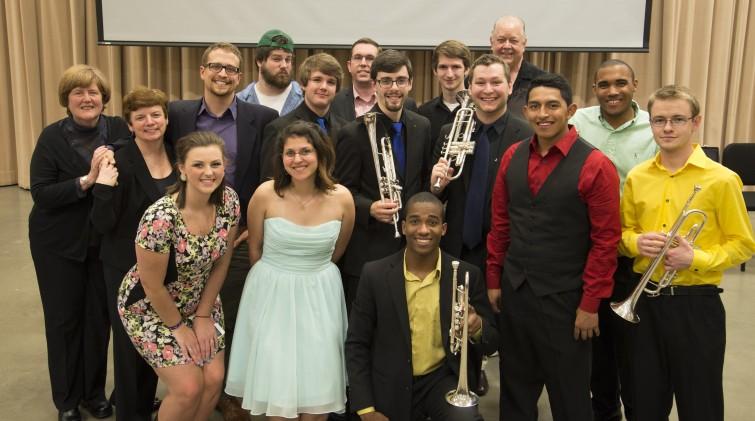 KSU Trumpet Studio Recital Spring 2015